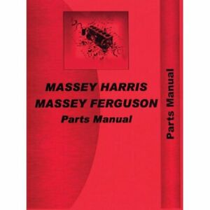 Parts Manual 33 Massey Harris 33 33