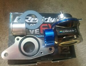 New Authentic Greddy Type Fv Universal Blow Off Valve Bov Subaru Wrx Sti Adapter