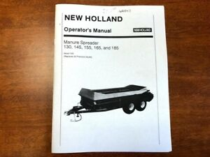 New Holland Manure Spreader Operator s Manual 014