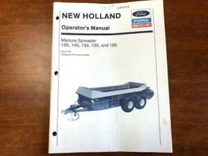 New Holland Manure Spreader Operator s Manual 015