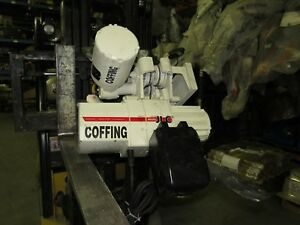 Coffing Jlcmt1016 1 2 Ton Electric Hoist W electric Trolley 16fpm 1 2hp 15 Lift