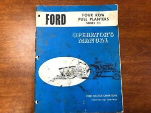 Ford 311 Four Row Pull Planter Operator s Manual 018