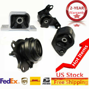 For 02 06 Honda Crv Transmission Engine Motor Mounts Front Right Rear Set Oem