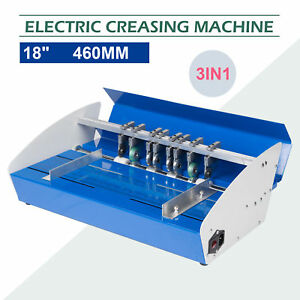 Heavy Duty 18inch 460mm Electric Creaser Scorer Perforator
