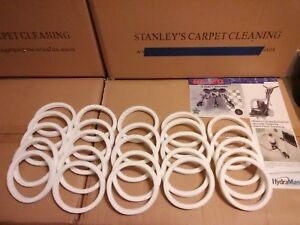 25 Rx 20 Felt Seal Gaskets Carpet Cleaning Fits All Models 65