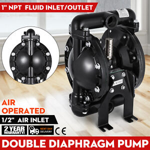 Air operated Double Diaphragm Pump Qby4 25l F46 1inch Outlet 1inch Inlet Hot