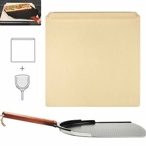 The Ultimate Pizza Making Kit 14 X 16 Pizza Stone And 14 Pizza Peel