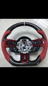 2015 2017 Ford Mustang Shelby Gt350 Gt V6 Steering Wheel