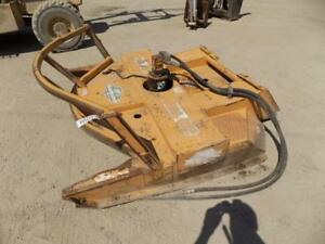 Diamond 72 Mower Attachment For Skid Steer Loaders Quick Attach Hydraulic Pto