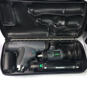 Welch Allyn 97800 ms Diagnostic Set Kit Panoptic 11820 Macroview Otoscope 23820