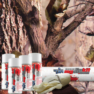 Hydrographic Film Kit Hydro Dipping Water Transfer Printing Hidden Forest Dd597