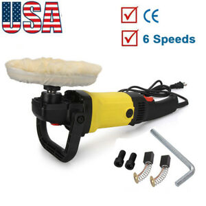 7 Auto Car Paint Polisher buffer Waxer 110v 1200w Electric Variable 6 Speeds