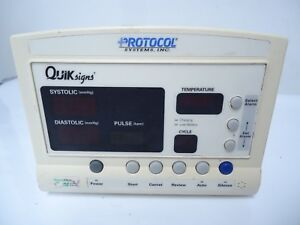 Lot Of 2 Welch Allyn 52000series Protocol Systems Quik Signs Systolic Diastolict