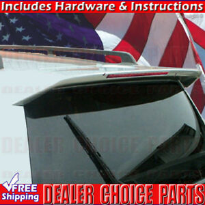 1997 2004 Mitsubishi Montero Sport Factory Style Spoiler Wing W led Unpainted
