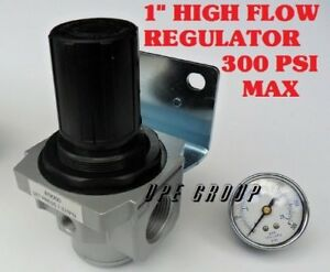Air Pressure Regulator High Flow Heavy Duty For Compressor Compressed Air