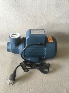 Qb80 Electric Clean Water Pump 1hp 110v Continuous Duty Damaged In Shipping