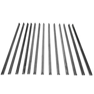 13x Smokehouse Smokestick V Curb Shaped Stainless Steel 33 X 5 8 No Notches