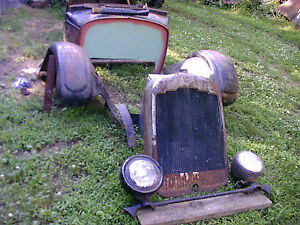 Hot Rat Rod Reo Wolverine Parts Model T A Ford Chevy Pontiac Oldsmobile