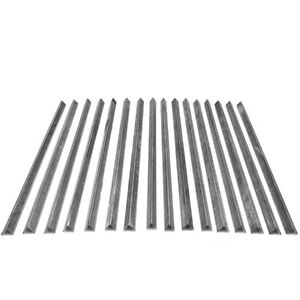 16x Used Stainless Steel Smokehouse Smokestick V Shaped 29 X 7 8 No Notches