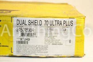 New Esab 33 Lb Roll Welding Wire Dual Shield 60 Ultra Plus Dia 1 16