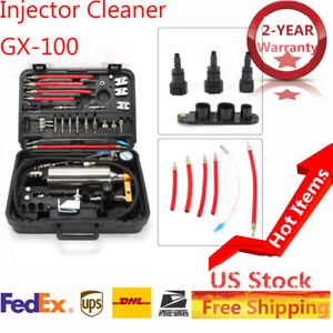 Gx100 New Non Dismantle Injector Cleaner Tester Fuel System For Petrol Car