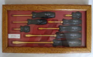 Gold Snap On 8 Piece Combination Screwdriver Set Sddx80gold