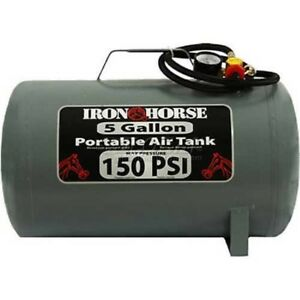 New Iron Horse Portable Air Tank Ihct 05 5 Gal 150 Psi