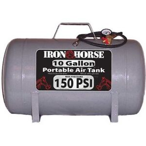 New Iron Horse Portable Air Tank Ihct 10 10 Gal 150 Psi