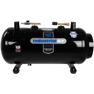 New Portable Receiver Tank 20 Gal 175 Psi vertical horizontal Configuration