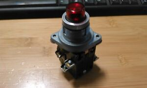 Ge 55 650375 Amber Push Button Switch