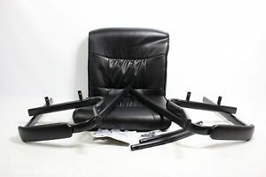 Flash Furniture Black Leather Executive Side Reception Ch Bt 1404 gg Preowned