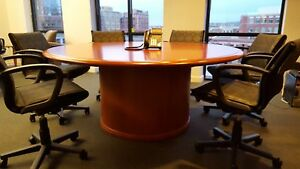 Conference Table Custom Built 72 Cherry Wood