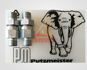 2pcs lot Putzmeister Concrete Pump Spare Parts Lubrication Check Valve C600682