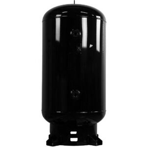 New Industrial Air Vertical Receiver Tank 24 Diameter 80 Gal 175 Psi