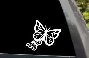 Butterfly Silhouette Car Truck Window Laptop Die Cut Vinyl Decal Sticker