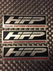 Hfp Honda Factory Racing Decals Sticker 5x1 5 Inch Free Shipping Nhra Offroad
