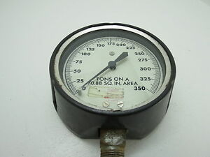 Helicoid Gauge Psi 5 13 16 Inch Meter Guage Steam Punk c1 5a1931