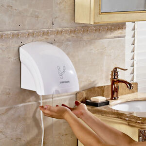 Electric Automatic Infared Sensor Hand Dryer Bathroom Hands Drying Device Hotel