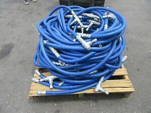 1 In 1 air Hose Omni flex 200psi Wp Compressor W Fittings Approx 200ft
