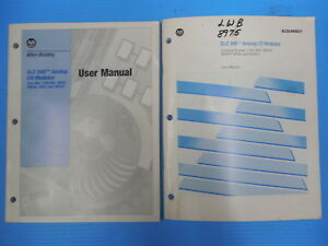 Allen bradley Slc 500 Analog I o Module User Manuals 1746 nm003