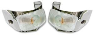 1955 Ford Pickup Parking Lights Ford Truck New Park Lamps Pair