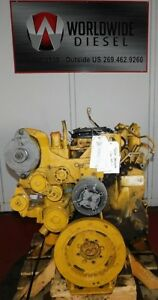 2004 Cat C7 Diesel Engine Take Out Turns 360 Engine Is Good For Rebuild Only