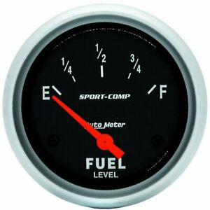 Autometer Fuel Gauge Gas New 3514