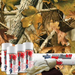 Hydro Dipping Water Transfer Printing Hydrographic Dip Kit Fall Leaf Camo Hc243