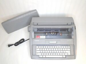 Brother Sx 4000 Electronic Typewriter Cover 70000 Word Dictionary Automatic Fast