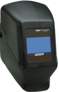 Jackson Safety Black Shadow Nexgen Welding Helmet Hood Auto Darkening Hsl100 Adf