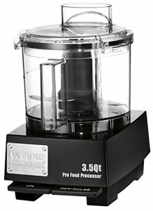 Waring Wfp14sw Food Processor 3 5 Qt Batch Bowl