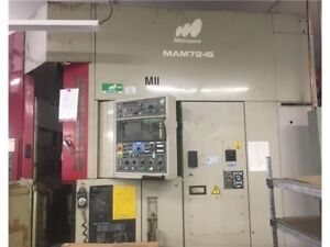 This For Two Machines 1994 Matsuura Mam72 1s Vmc 5 axis Bt 50 Taper 48 Pallets