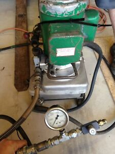 Greenlee 960 Saps Electric hydraulic Power Pump Pressure Tested10 000psi 975 980