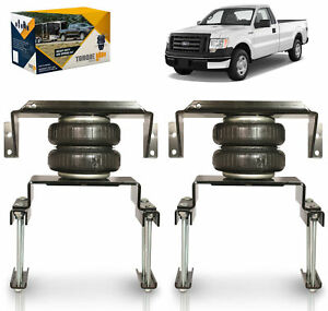 2009 2014 Ford F150 2wd 4wd Air Spring Helper Suspension Kit No Drill